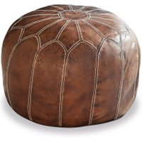 LOBERON Hocker Pag, braun (36cm)