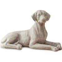 LOBERON Hund Socrate, antikweiß (32 x 70.5 x 39cm)