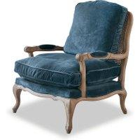 LOBERON Sessel Corlay, blau (77 x 87 x 96cm)