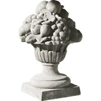 LOBERON Skulptur Elise, grau (45cm)