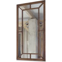 LOBERON Spiegel Bielle, braun (3 x 67 x 127cm)