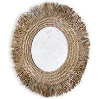 LOBERON Spiegel Qurduba, braun (3cm)