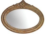 LOBERON Spiegel Rainvillers, antikschwarz (4 x 63 x 45.5cm)