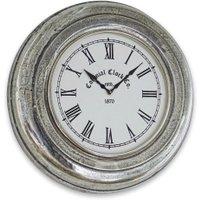LOBERON Uhr Brampton, antiksilber (8cm)