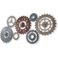 LOBERON Uhr Maidstone, bunt (2 x 99.5 x 48.25cm)