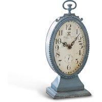LOBERON Uhr Michelet, antikblau (7.5 x 12 x 26cm)