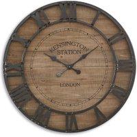 LOBERON Uhr Raffray, braun/schwarz (8cm)