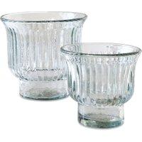 LOBERON Vase 2er Set Aélys, klar