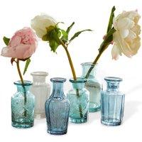 LOBERON Vase 6er Set Laurelle, grün/blau