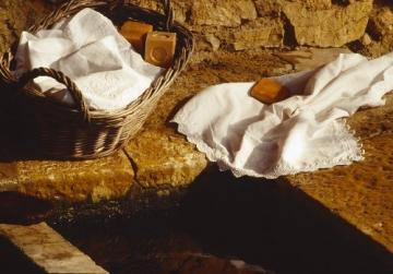 Marius Fabre 'Le Lavoir': 2x 600g echte Marseiller Kernseife aus 72% Olivenöl (Würfelseife) - 3