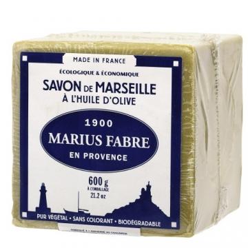 Marius Fabre 'Le Lavoir': 2x 600g echte Marseiller Kernseife aus 72% Olivenöl (Würfelseife) - 1