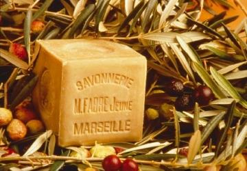 Marius Fabre 'Le Lavoir': 2x 600g echte Marseiller Kernseife aus 72% Olivenöl (Würfelseife) - 5