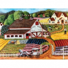 Master Pieces Fresh Flowers 750 Teile Puzzle Master-Pieces-31801