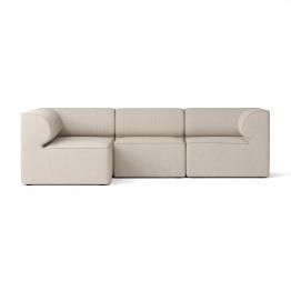 Menu - Eave 86 Modular 4-Sitzer Ecksofa links - natur/Stoff Kvadrat Savanna 0202/BxHxT 263x70.5x161cm
