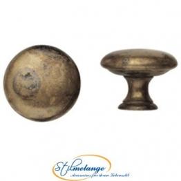 Messingknopf Landhausstil - 25 mm 25 mm - Qualität aus Europa seit 1998 - 1