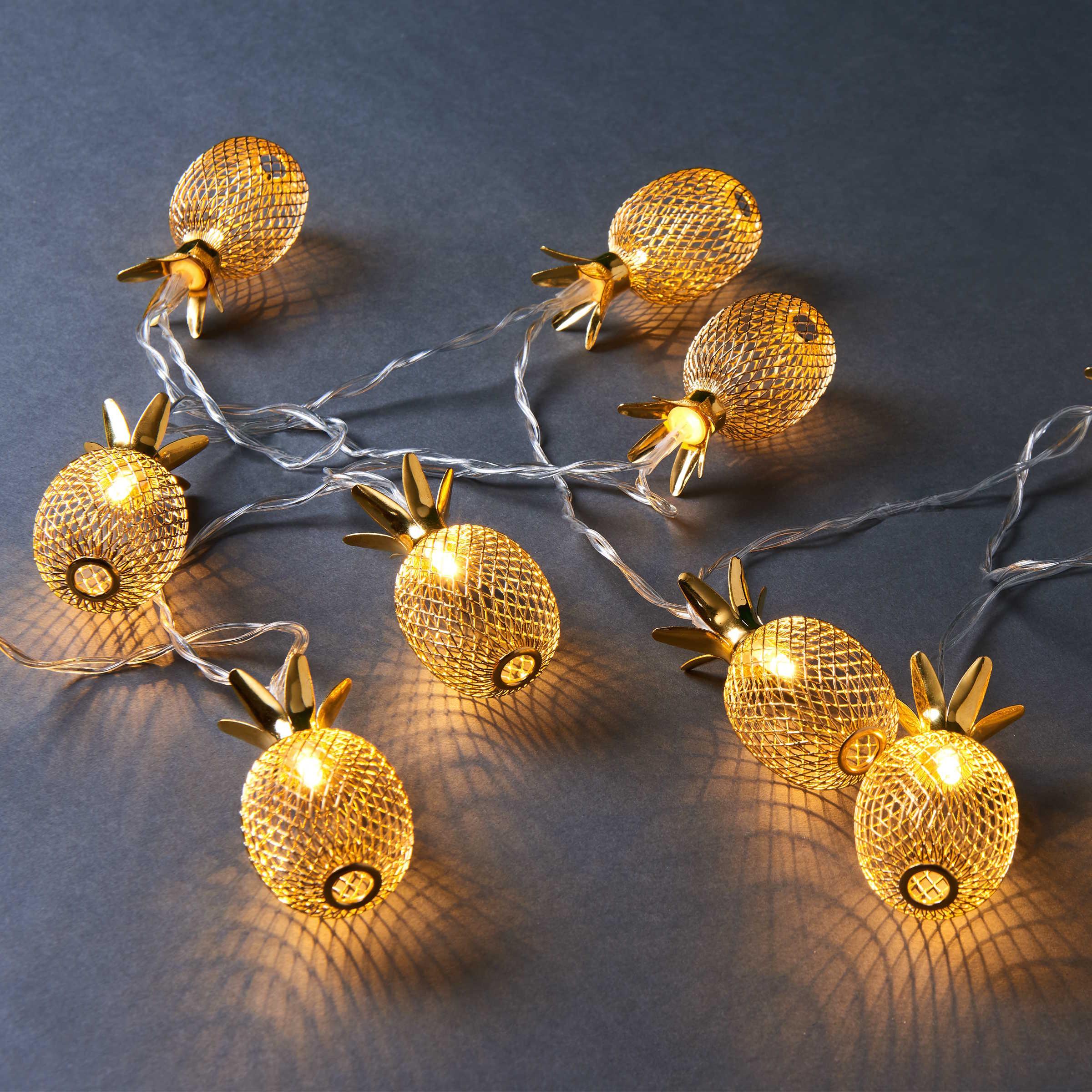 MIAMI Lichterkette Ananas