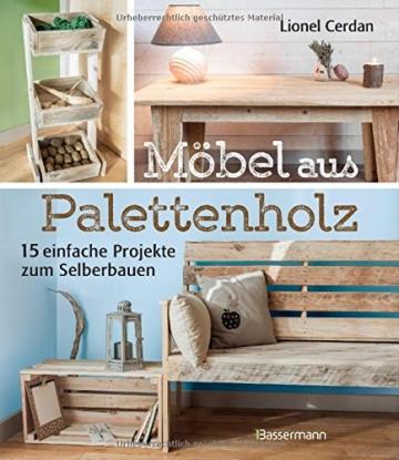 Möbel aus Palettenholz: 15 einfache Projekte zum Selberbauen - 1