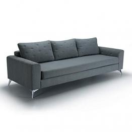 Movian Jazz 3-Sitzer, Grau/Grün - 1