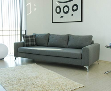 Movian Jazz 3-Sitzer, Grau/Grün - 2