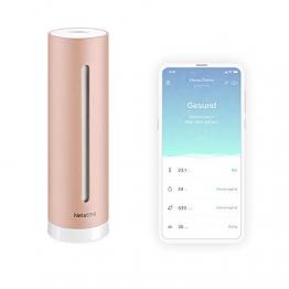 Netatmo Luftqualität Messgerät, Feuchtigkeit, Temperatur, Lärm und CO2 Sensoren, NHC-DE - 1