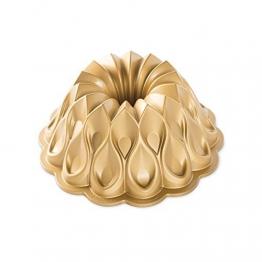 NordicWare Nordic Ware-Non-Stick Kuchen Backform-Krone, Aluminium, Gold, 25,4 x 25,4 x 9,9 cm - 1