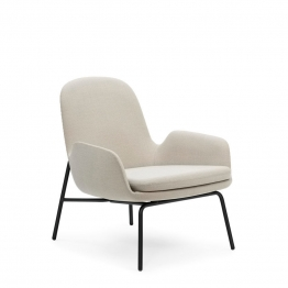 normann COPENHAGEN Era Lounge Chair Low Metall Gestell - Gestell: schwarz lackiert,