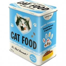 Nostalgic-Art 30143 Animal Club - Cat Food - Love Mix, Vorratsdose L - 1