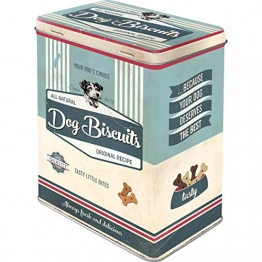 Nostalgic-Art 30145 PfotenSchild - Dog Biscuits, Vorratsdose L - 1