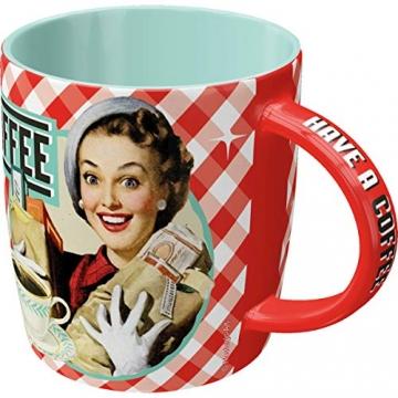 Nostalgic-Art 43004 Say it 50's - Have A Coffee | Retro Tasse mit Sprüchen | Kaffee-Becher | Geschenk-Tasse | Vintage - 2
