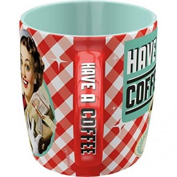 Nostalgic-Art 43004 Say it 50's - Have A Coffee | Retro Tasse mit Sprüchen | Kaffee-Becher | Geschenk-Tasse | Vintage - 3