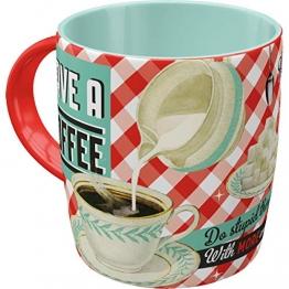 Nostalgic-Art 43004 Say it 50's - Have A Coffee | Retro Tasse mit Sprüchen | Kaffee-Becher | Geschenk-Tasse | Vintage - 1
