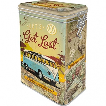 Nostalgic-Art VW Bulli - Let's Get Lost Aromadose, bunt, 7,5x11x17,5 cm - 1