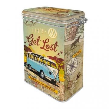 Nostalgic-Art VW Bulli - Let's Get Lost Aromadose, bunt, 7,5x11x17,5 cm - 3