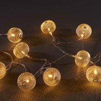OSAKA Lichterkette Laternen 10 Lichter