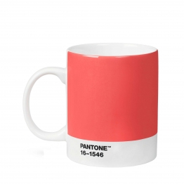 Pantone Living Coral Becher