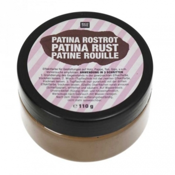 Patina Rostrot 110g