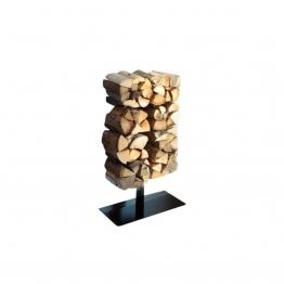 Radius - Wooden Tree Kaminholzregal mit Ständer - schwarz/Größe 1/BxHxT 61x90,5x29cm