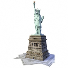 Ravensburger 3D Puzzle - New York: Freiheitsstatue 108 Teile Puzzle Ravensburger-12584