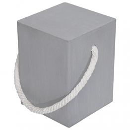 ren-wil Hocker, Zement/natur Seil, S - 1