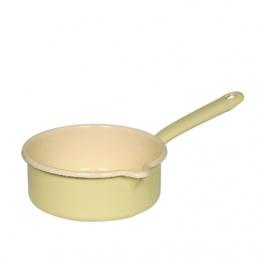 Riess Stielkasserolle 16 cm gelb