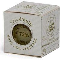 Savon de Marseille Olivenölseife Seifenblock 72% Olivenöl Seife Vegan 100g