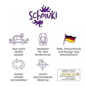 Schmuki Kinderschmutzsack | Fußsack für Kindersitz, Buggy und Kinderwagen - so bleibt auch nach dem Spielen das Auto sauber | geeignet für Mädchen und Jungen im Alter von 3 - 6 Jahren (Richtwert) - 5