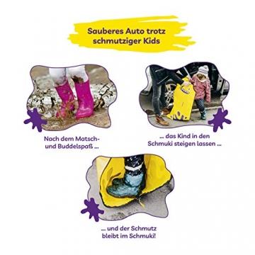 Schmuki Kinderschmutzsack | Fußsack für Kindersitz, Buggy und Kinderwagen - so bleibt auch nach dem Spielen das Auto sauber | geeignet für Mädchen und Jungen im Alter von 3 - 6 Jahren (Richtwert) - 6