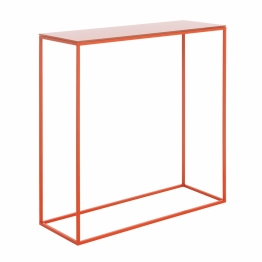 Schönbuch - Rack Console Table - coral red/WxHxD BxHxT 70x70x25cm