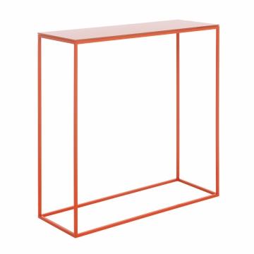 Schönbuch - Rack Console Table - coral red/WxHxD BxHxT 70x70x25cm