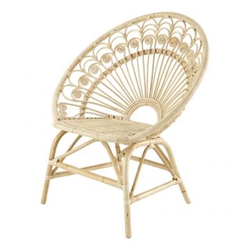 Sessel im Vintage-Stil aus Rattan