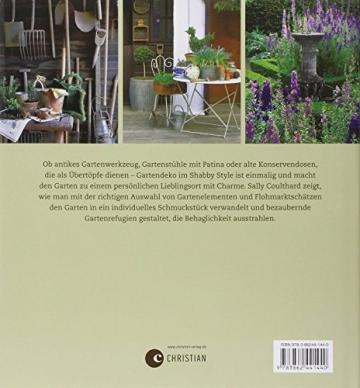 Shabby Style im Garten: der Gartenratgeber voller bezaubernder Inspirationen und Einrichtungsideen rund um Möbel und Deko im Shabby chic - 2