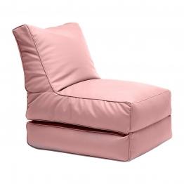 Sitting Bull - Flex Lounger Fabric - coral/LxWxH 195x65x20cm