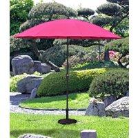 Sonnenschirm mit 24 Streben, pink