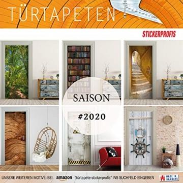 StickerProfis Türtapete selbstklebend TürPoster - BÜCHERREGAL - Fototapete Türfolie Poster Tapete - 7